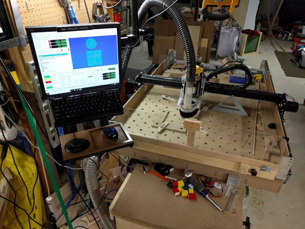 My X-Carve in its near-final state
